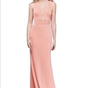 XSCAPE long blush dress NEW WITH TAGS